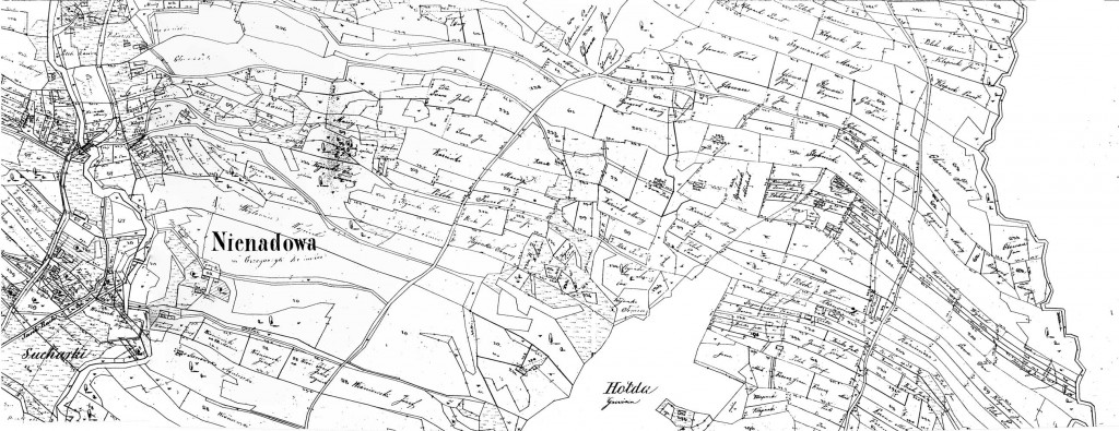 Nienadowa, Galicia - 1854 (Map 17)