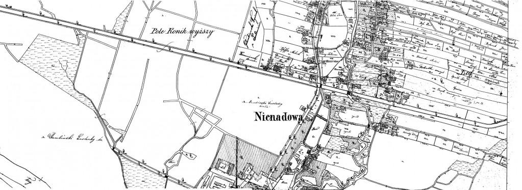 Nienadowa, Galicia - 1854 (Map 19)