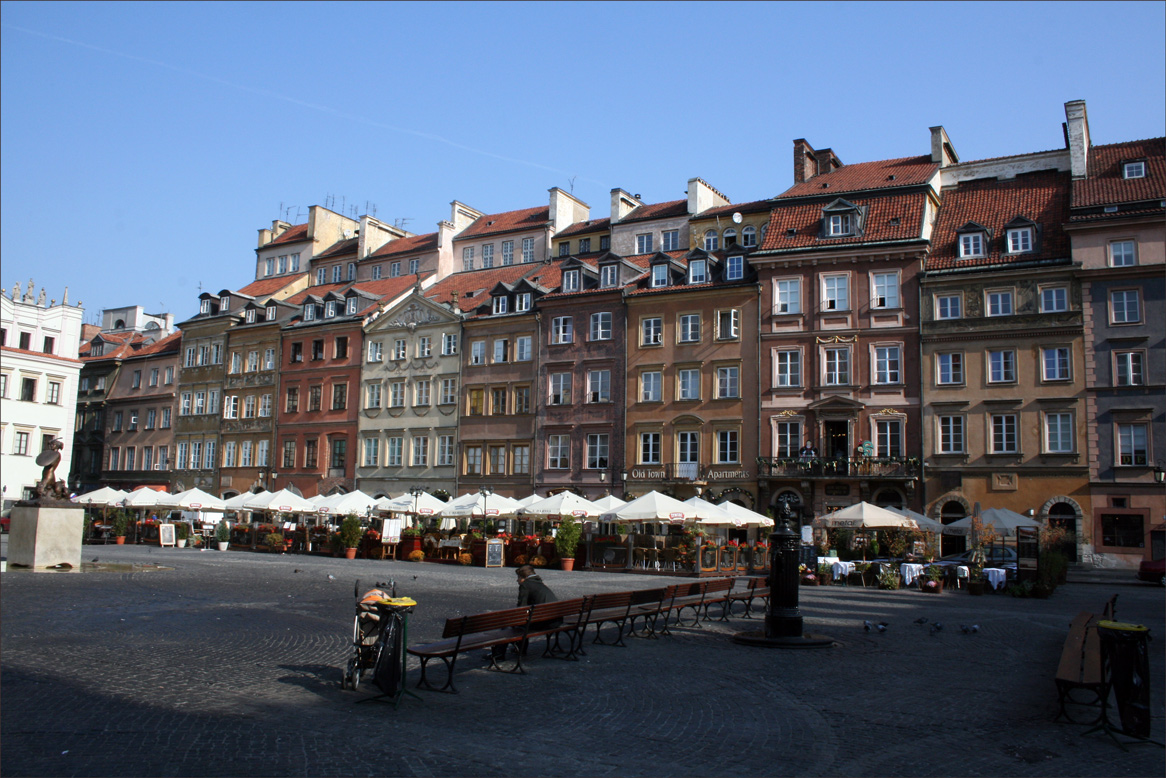 The Old Town Marketplace in Warsaw (Rynek Starego Miastawarsaw town