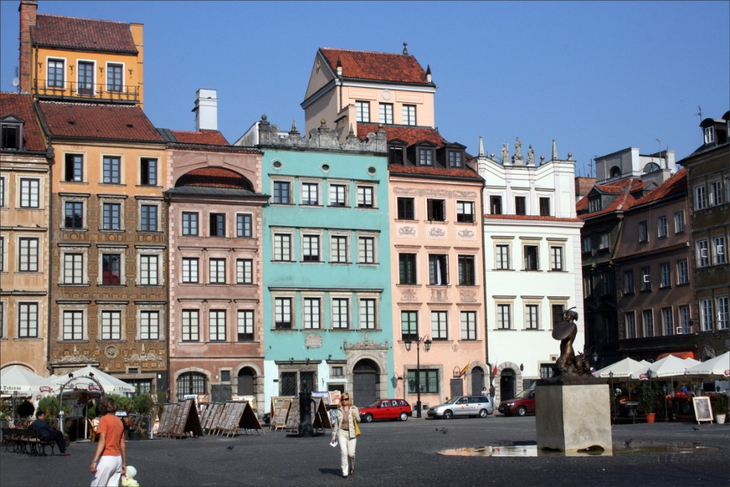Warsaw Old Town Marketplace North