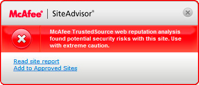 McAfee-Red