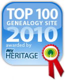 MyHeritage.com Top 100 Genealogy Sites