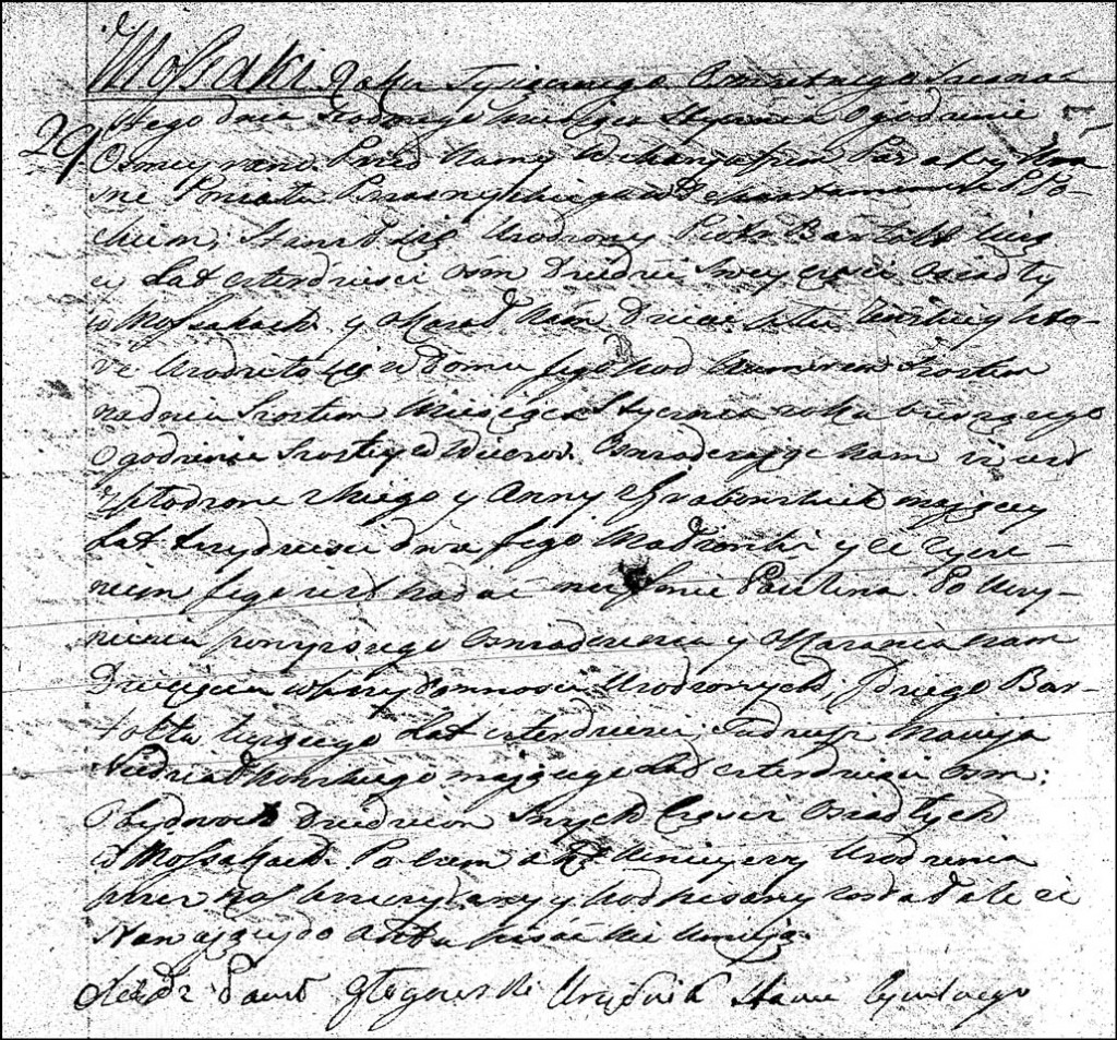 The Birth and Baptismal Record of Paulina Bartołd – 1816