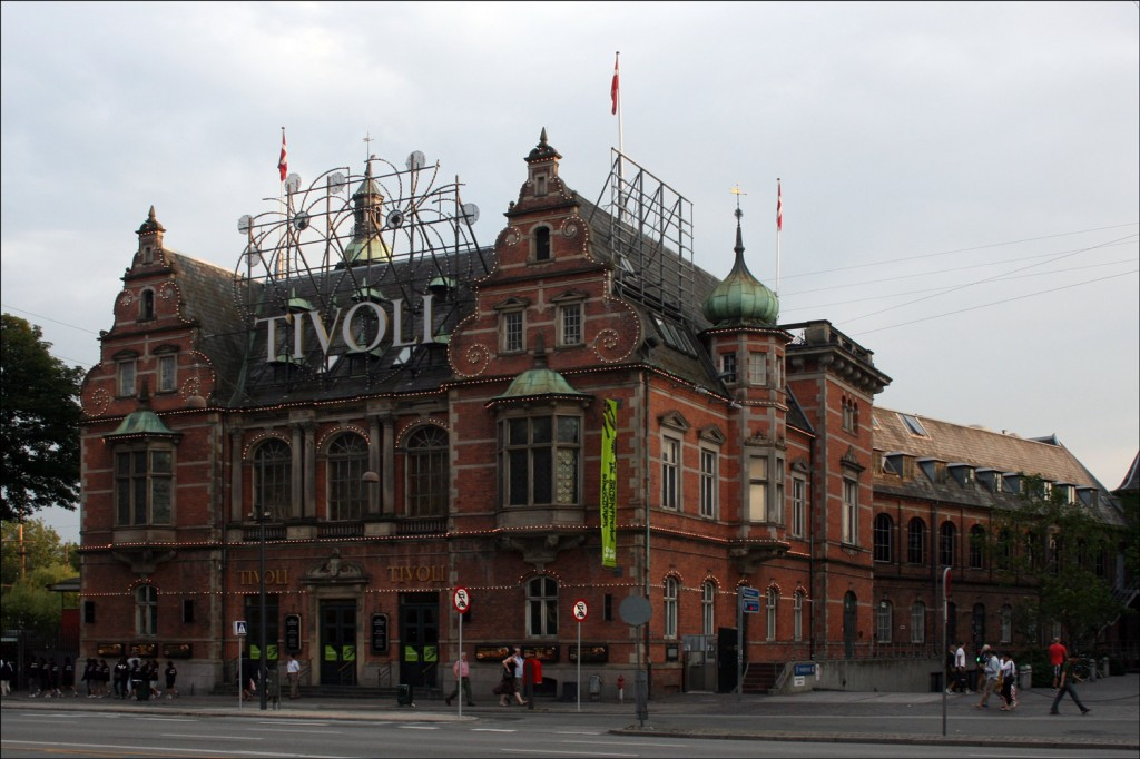 The Exterior of Tivoli Gardens
