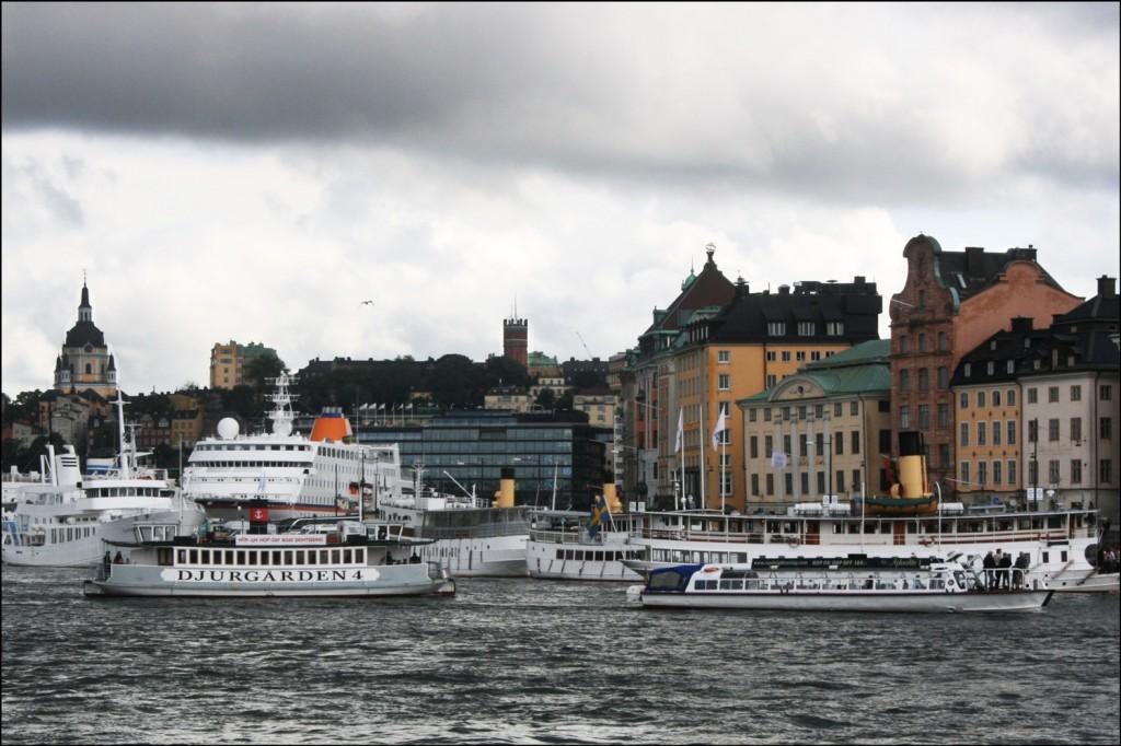 A View Across the Saltsjön