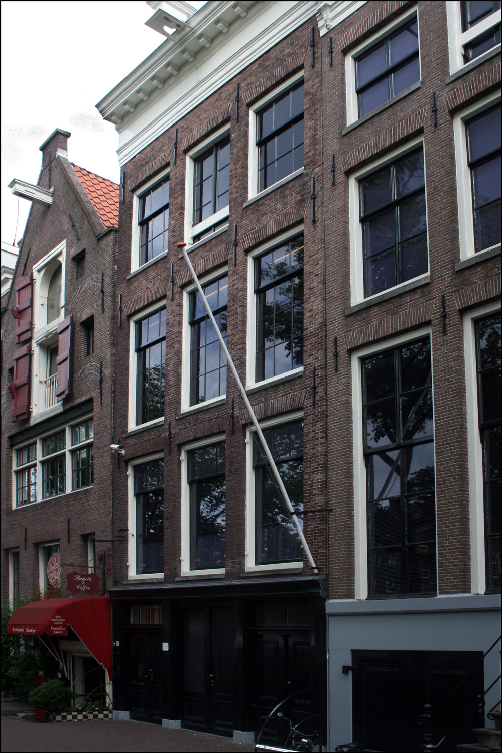 The Anne Frank House and Westerkerk in Amsterdam | Steve's ...