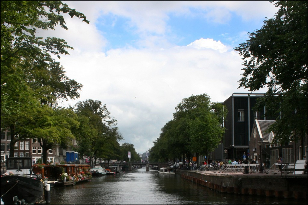The Prinsengracht, Amsterdam