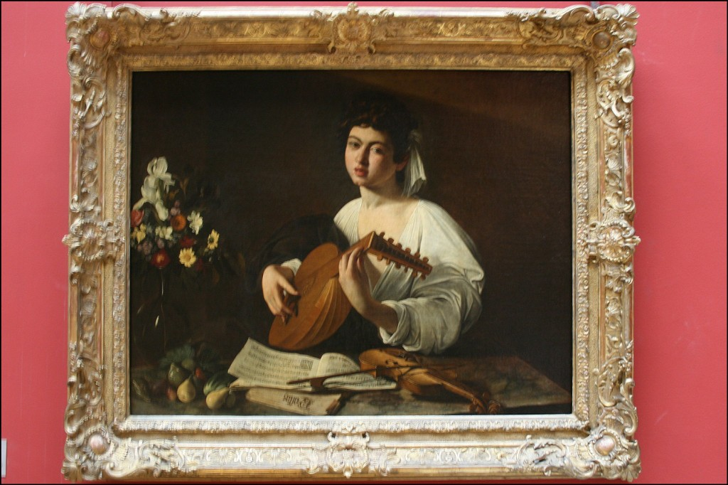Caravaggio - The Lute Player - 1595