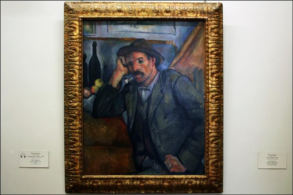 Paul Cezanne - Smoker - abt 1890-1892