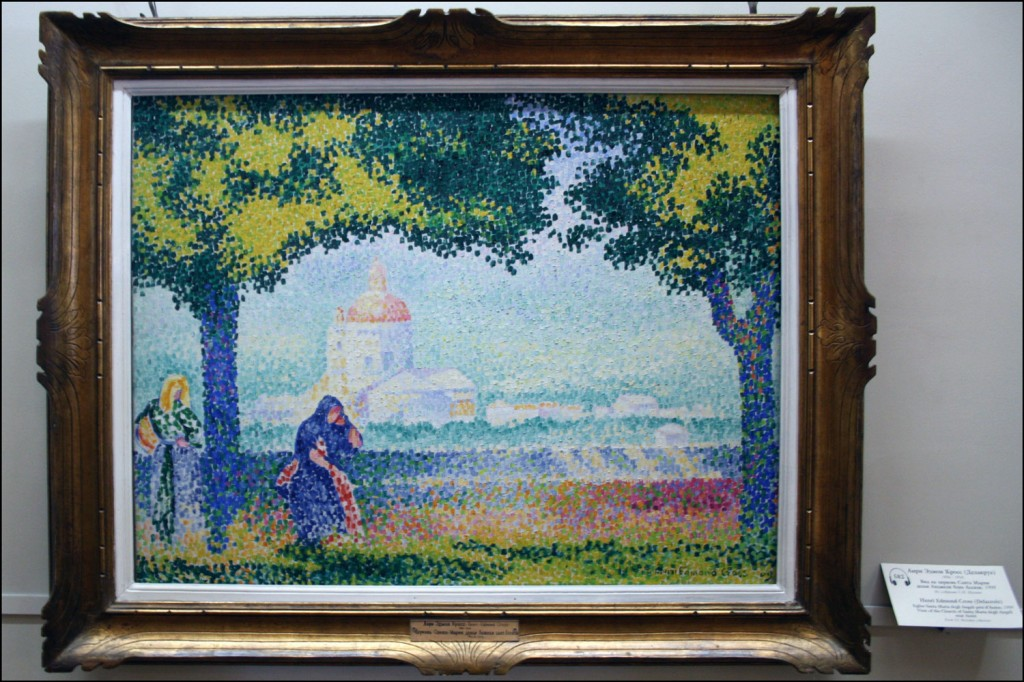 Henri Edmond Cross - View of the Church of Santa Maria degli Angeli near Assisi