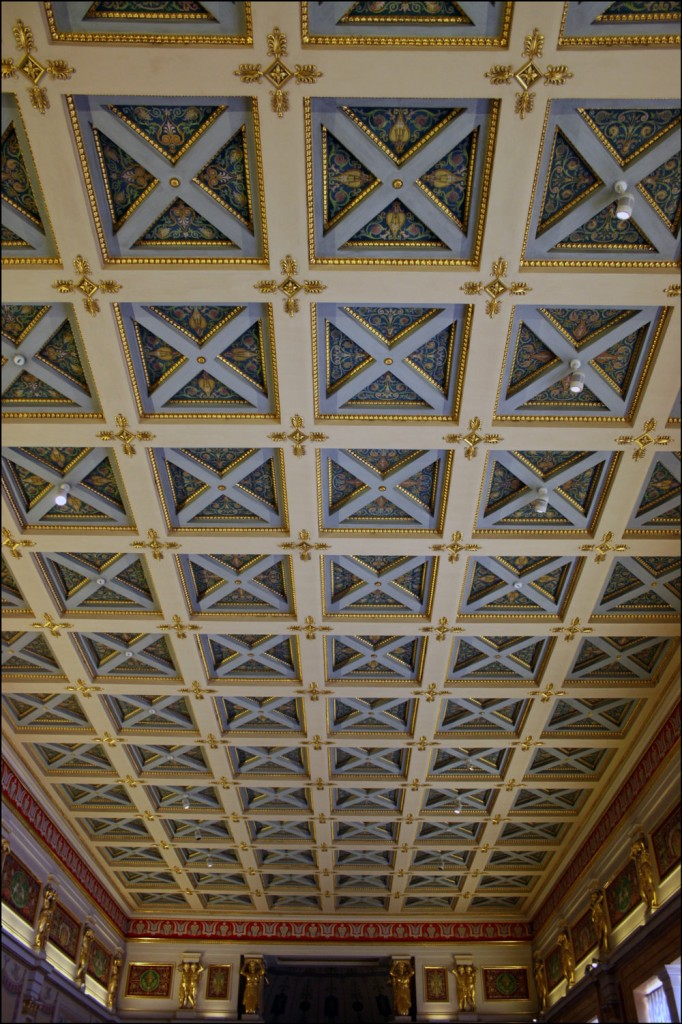 Ceilings in the Hermitage