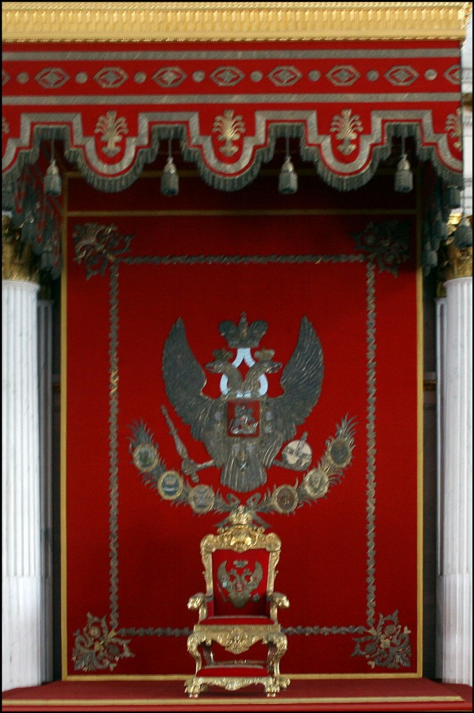 The Throne of St. George's Hall