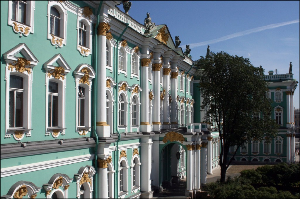 The Eastern Facade of the Winter Palace