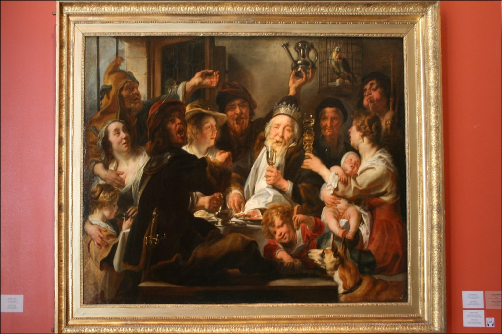Jacob Jordaens - The Bean King - abt 1638
