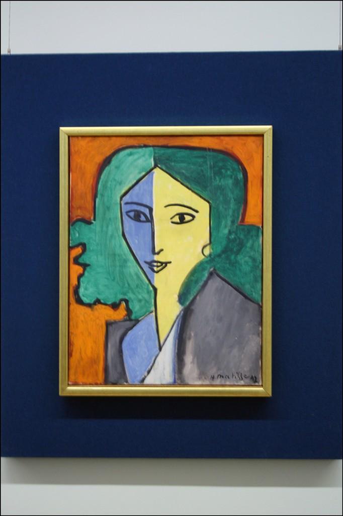 Henri Matisse - Portrait of Lydia Delectorskaya - 1947
