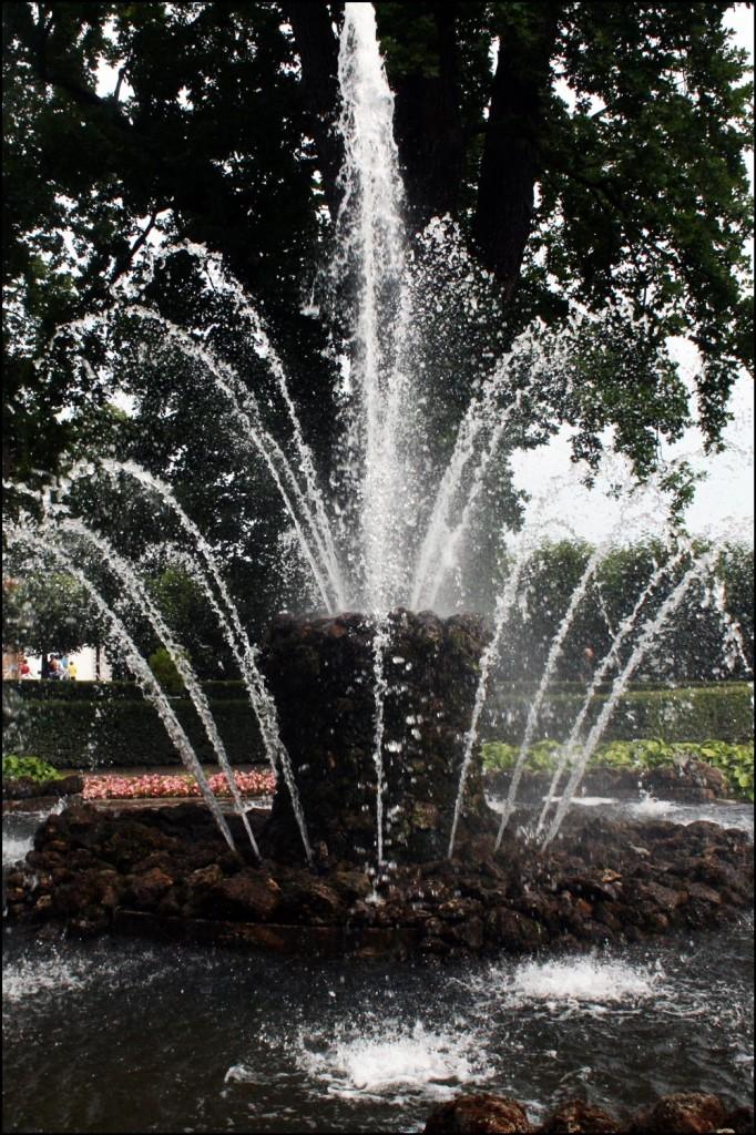 Stone Fountain near Monplaisir