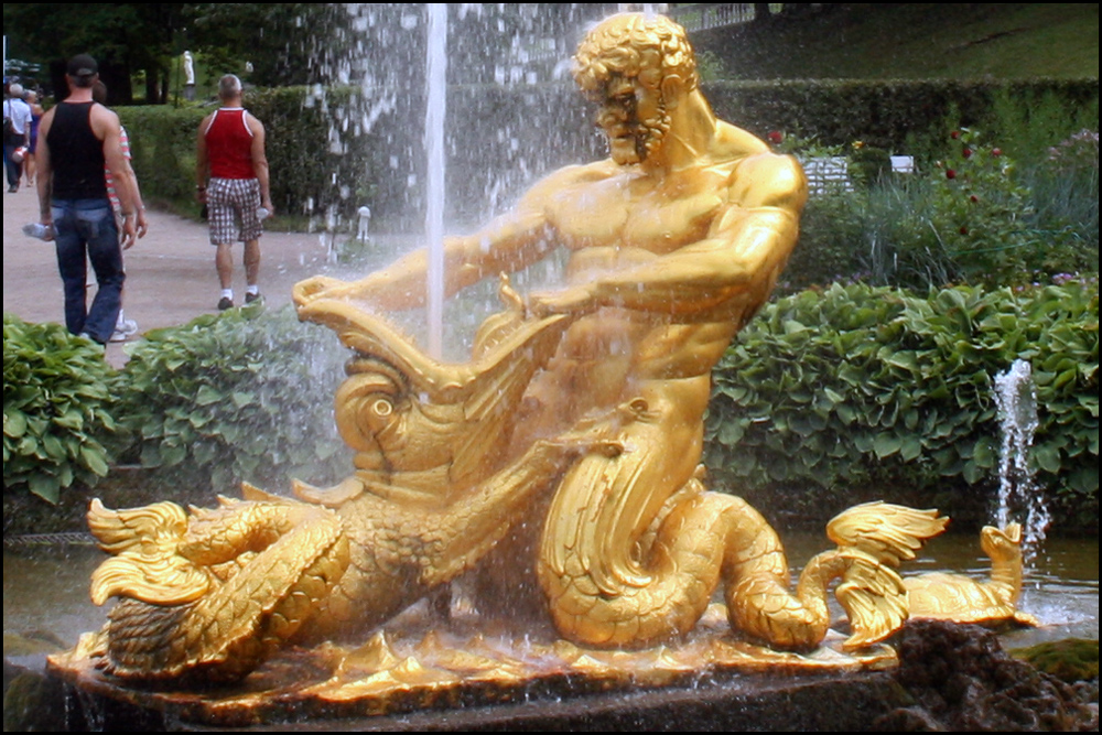 The Triton Fountain