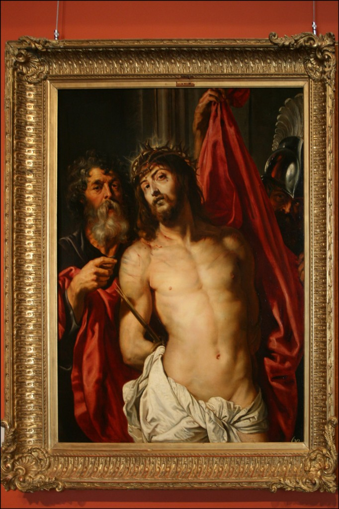 "Peter Paul Rubens - Christ Crowned with Thorns ""Ecce Homo"""