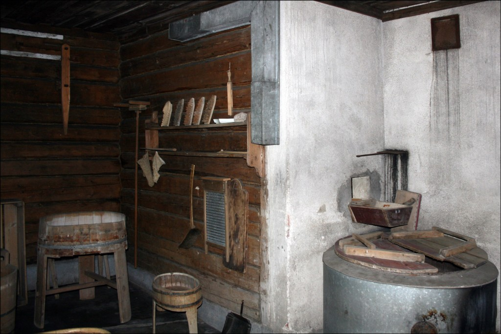 Laundry Room in Sauna