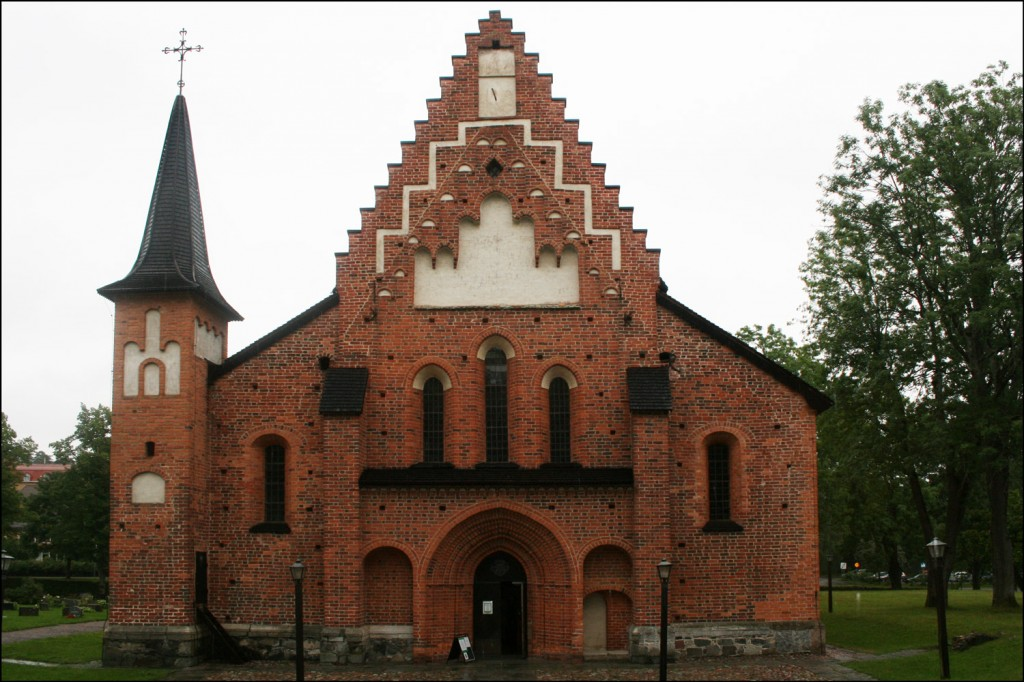Exterior of the Mariakyrkan