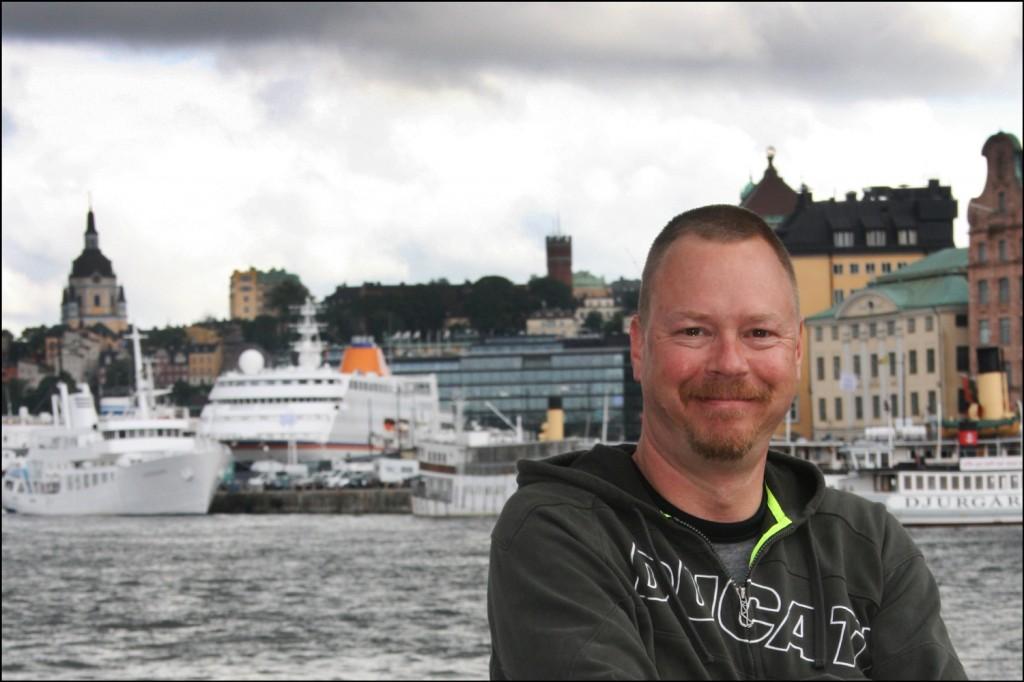 Steve Danko in Stockholm