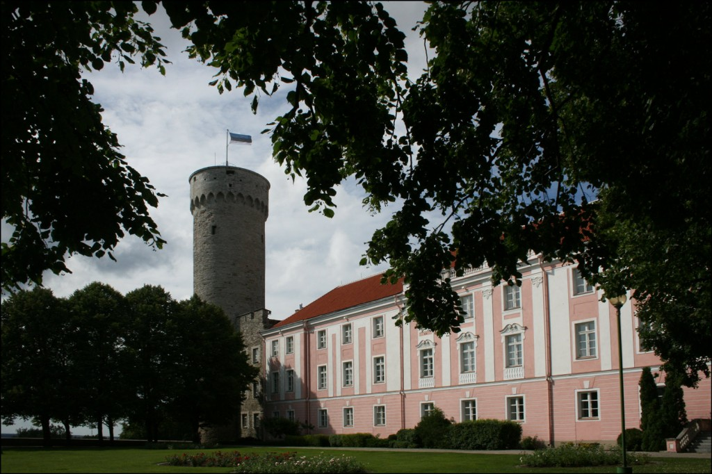 The South Wing of Toompea Castle and the Tall Hermann Tower