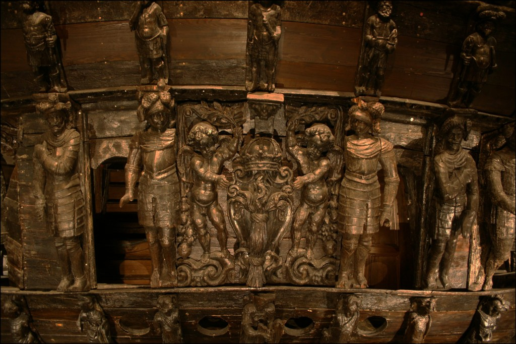 Ornamentation on the Stern of the Vasa