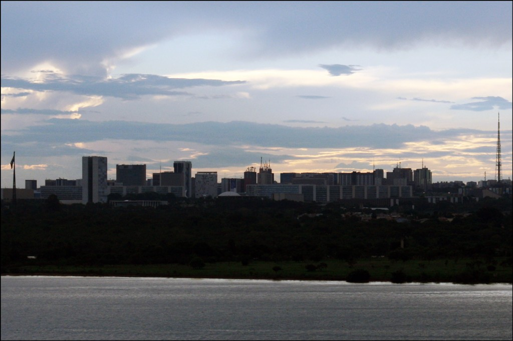 Skyline of  Brasília