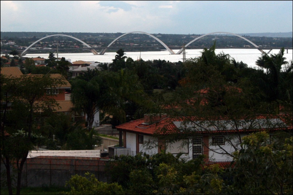 The Juscelino Kubitschek Bridge