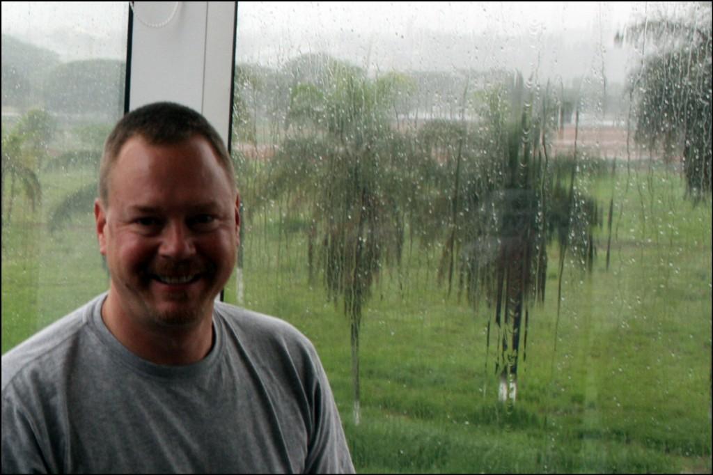 Steve in Brasília
