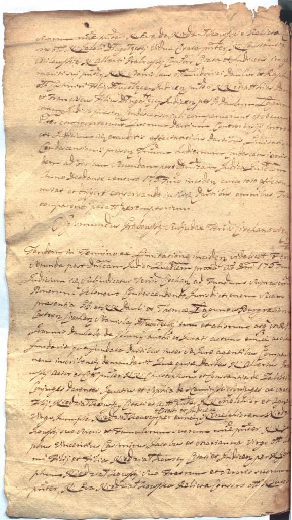 """""""Ciechanowskie Grodzkie Wieczyste"""", sygn.107, k.51v"""