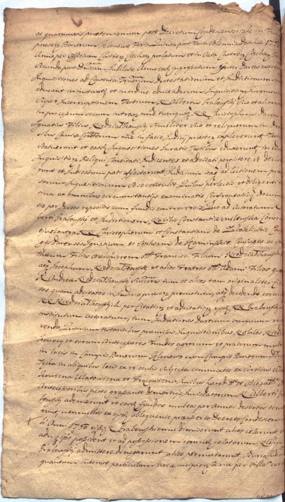 """""""Ciechanowskie Grodzkie Wieczyste"""", sygn.107, k.53v"""