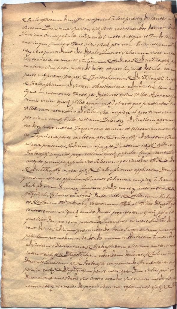 """""""Ciechanowskie Grodzkie Wieczyste"""", sygn.107, k.55v"""
