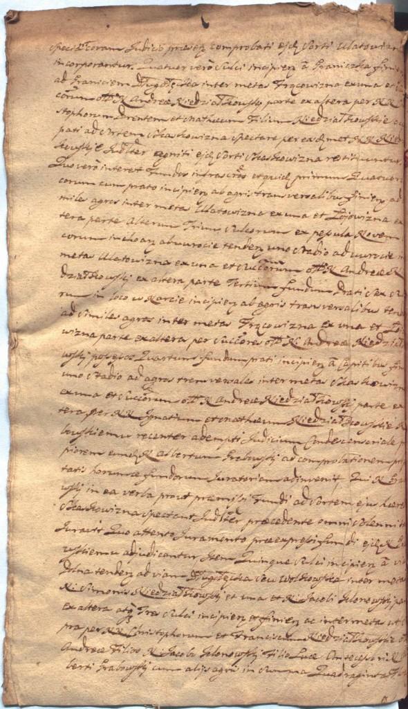 """""""Ciechanowskie Grodzkie Wieczyste"""", sygn.107, k.56v"""