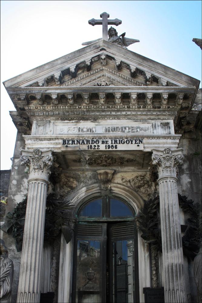 Tomb of Bernardo de Irigoyen (1822-1906)