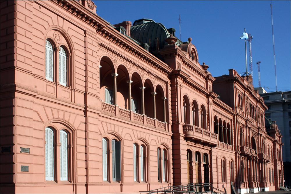 The Casa Rosada (Pink House)