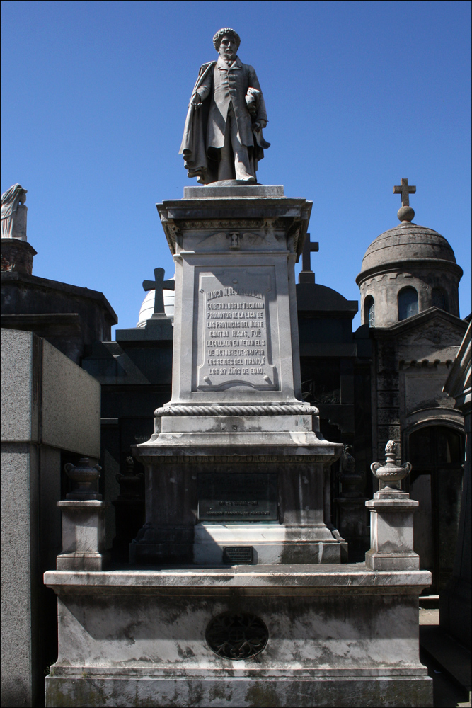 Tomb of Marco Avellaneda (1813-1841)