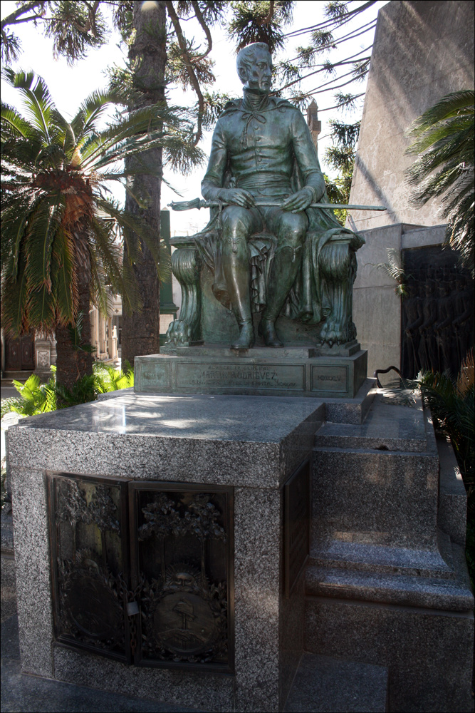 Tomb of Martin Rodriguez (1771-1845)