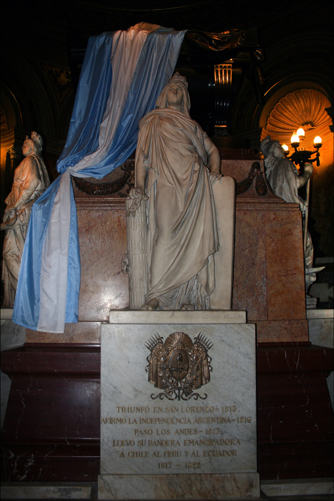 Mausoleum of General José de San Martin