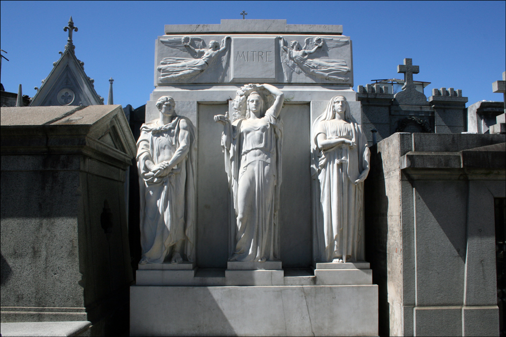 Tomb of Bartolomé Mitre (1821-1906)