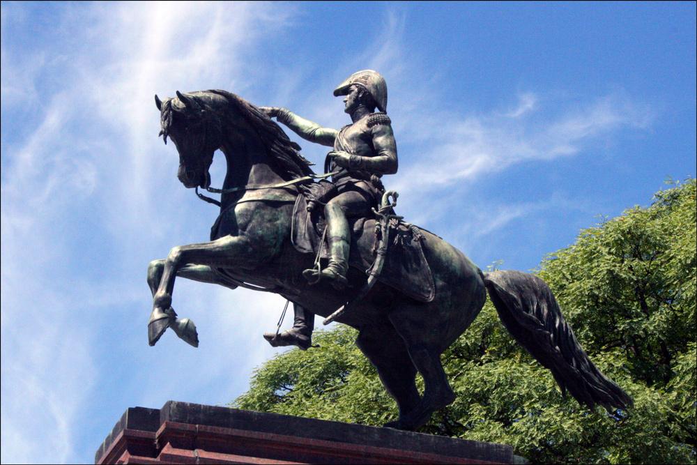 Detail of Monumento del Libertador José de San Martín