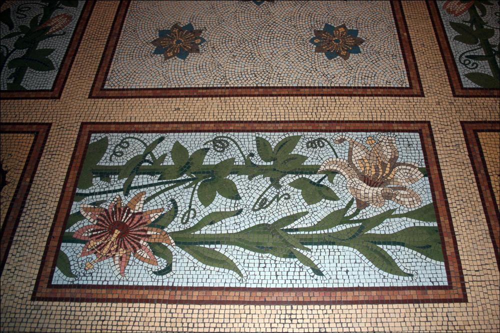 Floor Mosaics in Catedral Metropolitana de Buenos Aires