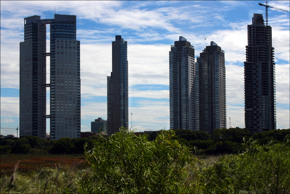 High-Rise Construction near Reserva Ecológica Costanera Sur
