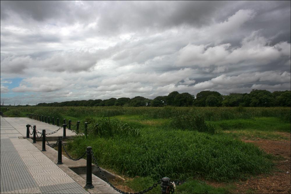 Entrance to Reserva Ecológica Costanera Sur