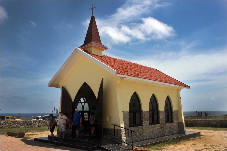 Alto Vista Chapel, Exterior