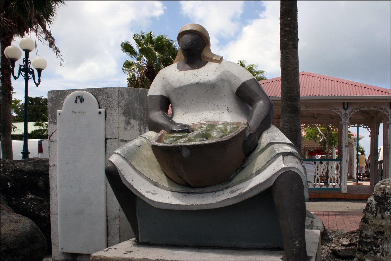 Marigot Market Woman