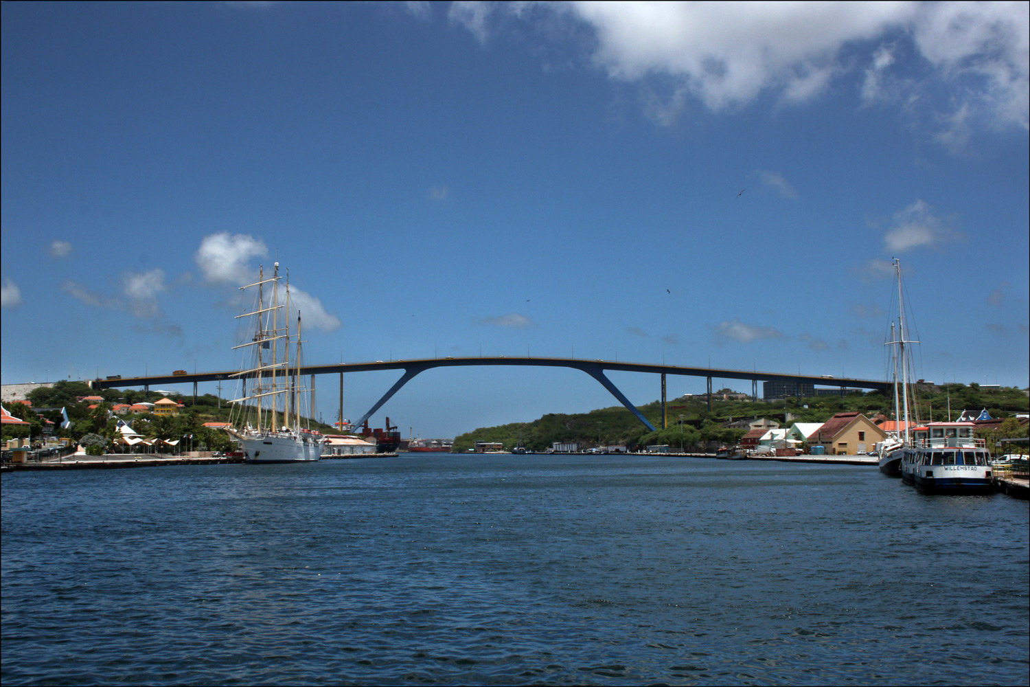 The Queen Juliana Bridge