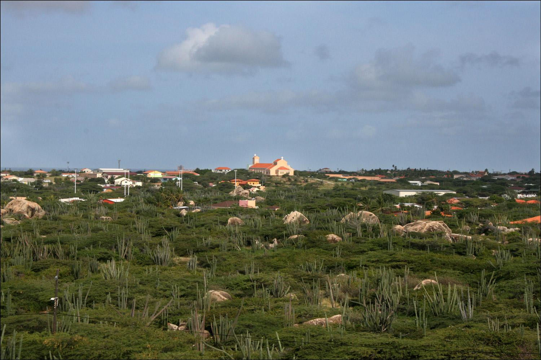 View to Santuario Santa Filomena