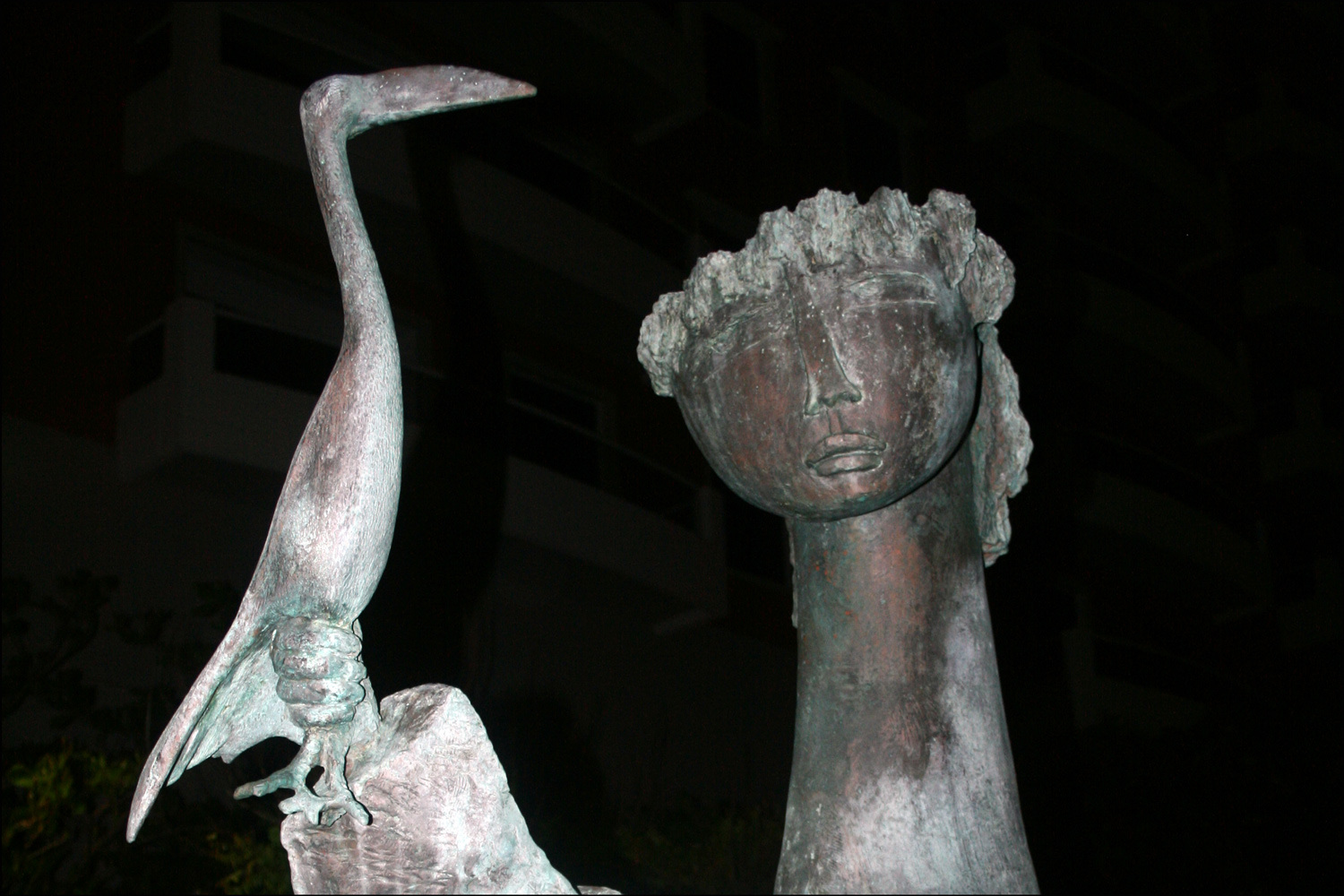 Sculpture at La Ventana al Mar