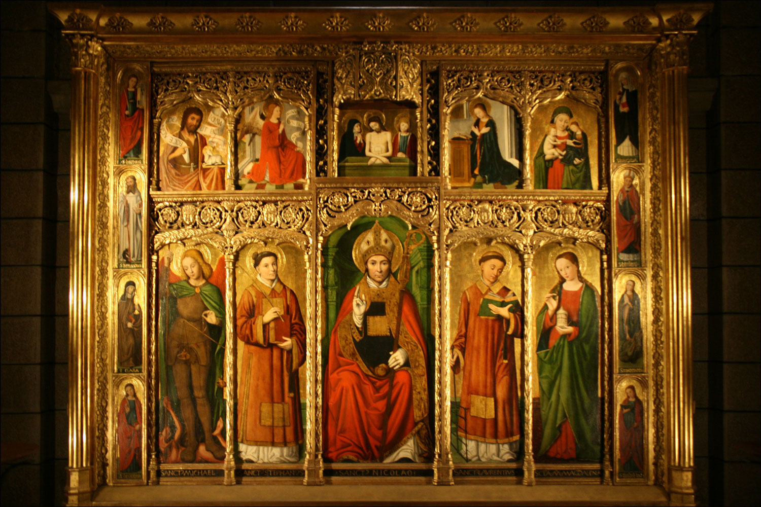 The Saint Nicholas Altarpiece